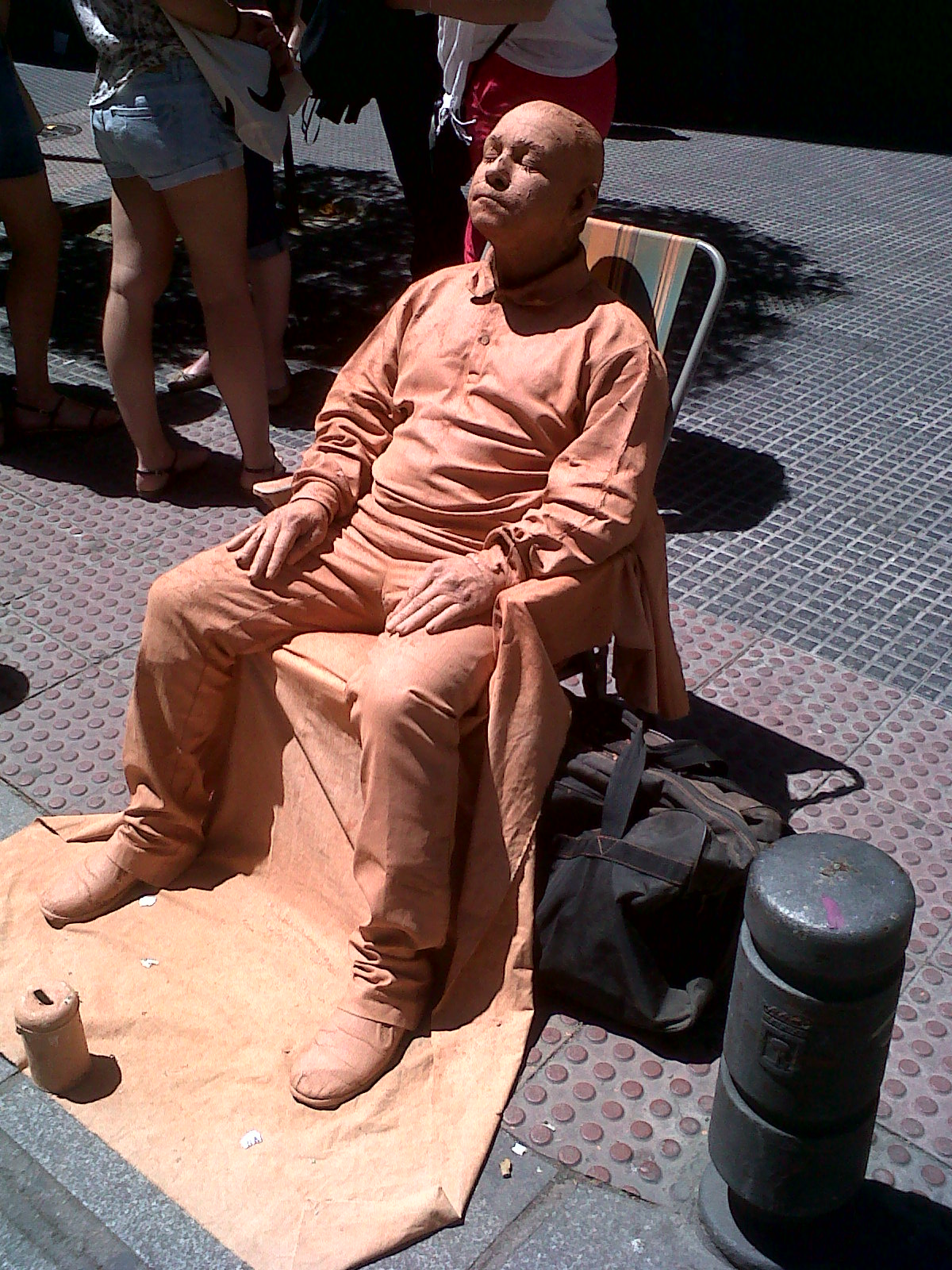 mud statue